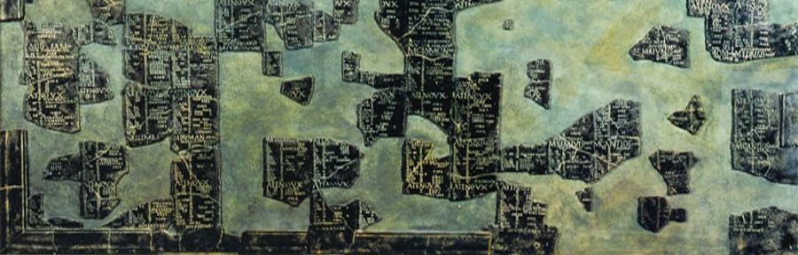 Ausschnitt aus dem Kalender von Coligny