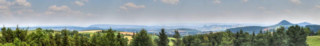 Hegau mit Blick in die Schweiz